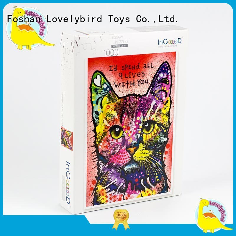 wooden puzzles with frame for activities Lovelybird Toys