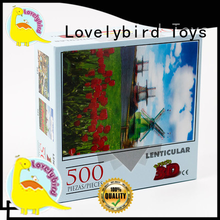 Lovelybird Toys cool puzzle 500 design for entertainment
