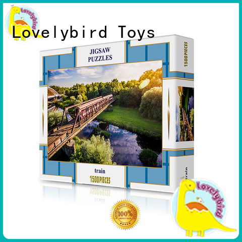 Lovelybird Toys embossing 1500 piece jigsaw puzzles puzzle for