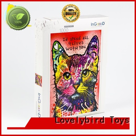 toy frame puzzle  Lovelybird Toys manufacture