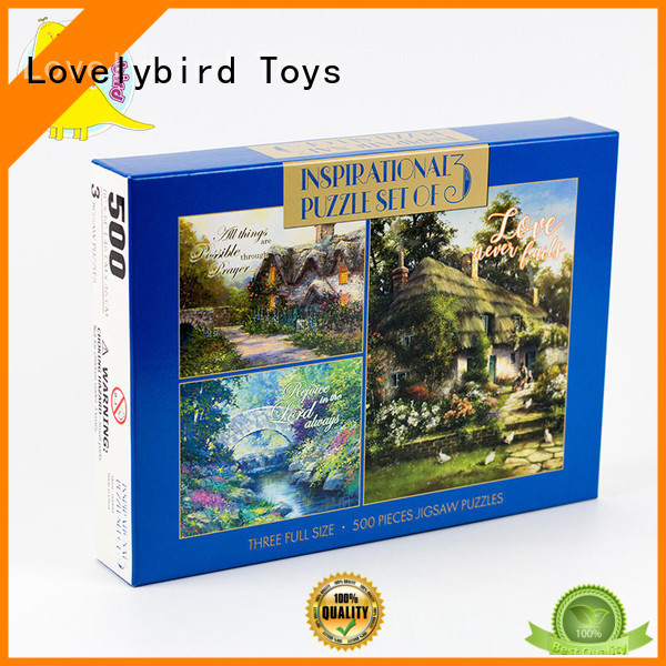 Lovelybird Toys 500 jigsaw puzzles suppliers for adult