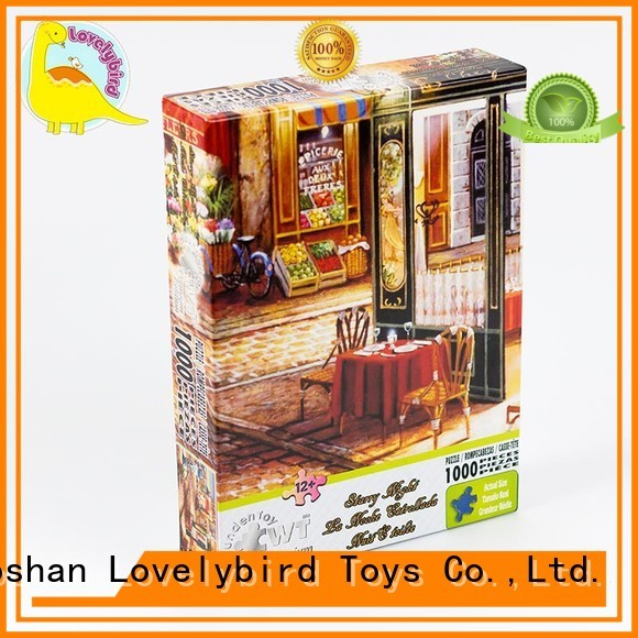 Lovelybird Toys popular  1000 piece jigsaw puzzles supplier for sale