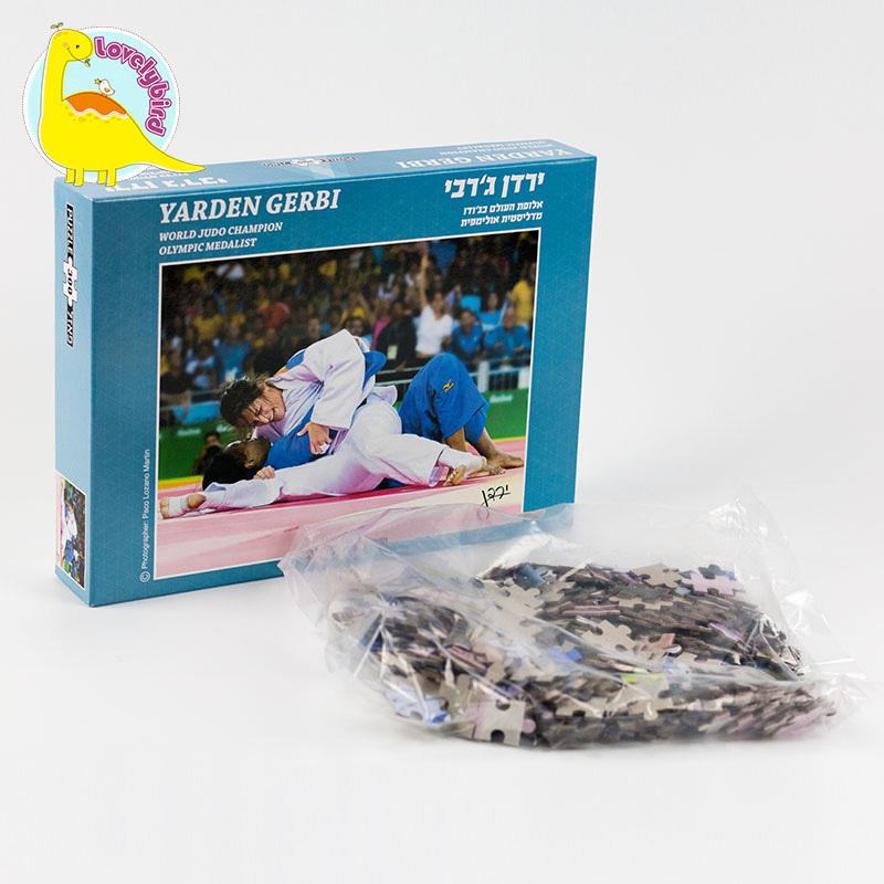 Hot Sale 300 pc Factory Custom Paper Puzzle