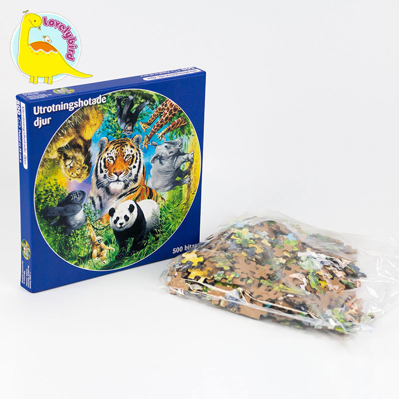 Popular Game 500pcRound Puzzle