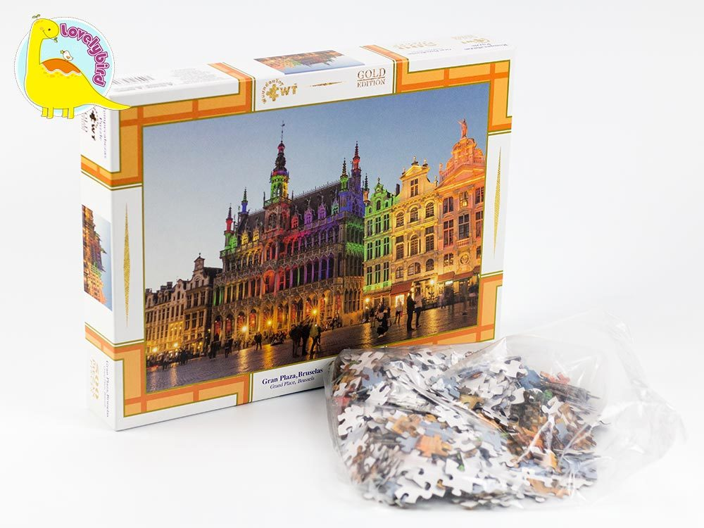 round jigsaw puzzle gratuit wholesale for sale