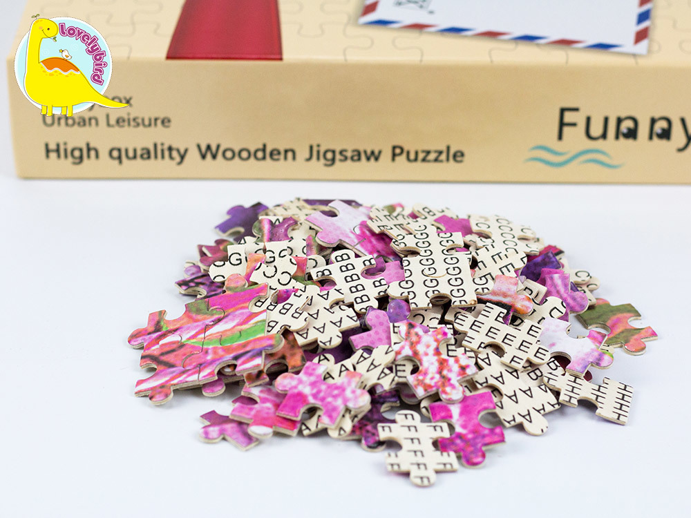 Lovelybird Toys 1000 piece jigsaw puzzles toy for adult