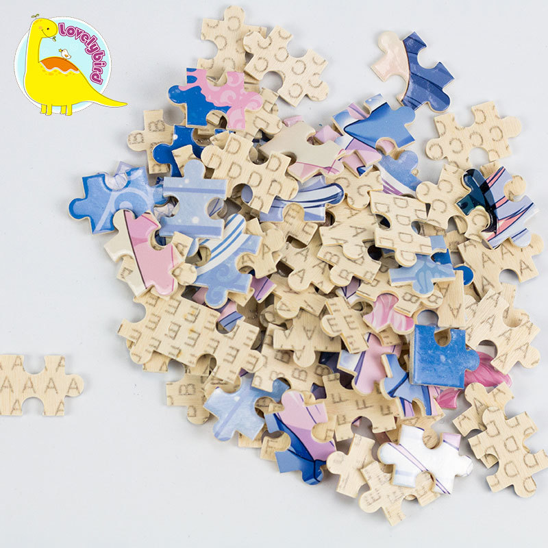 Wholesale 500pc Custom Wooden Puzzle