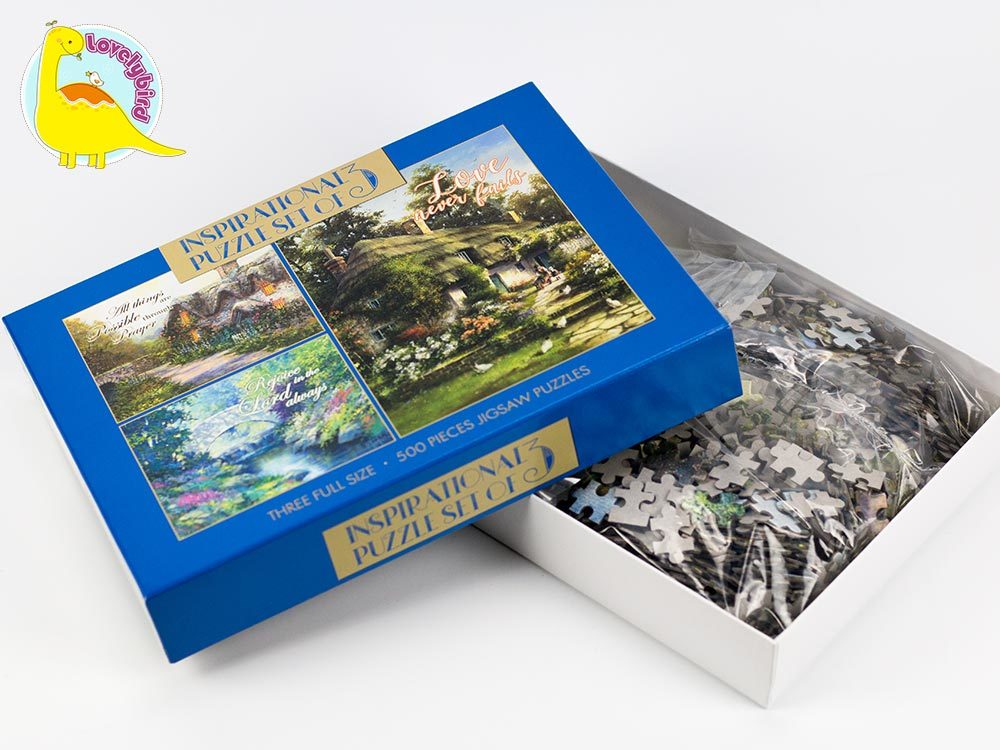 lenticular best jigsaw puzzles maker for adult