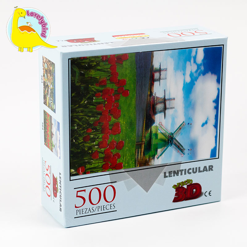 500pc CompleteLenticular  Jigsaw Puzzle