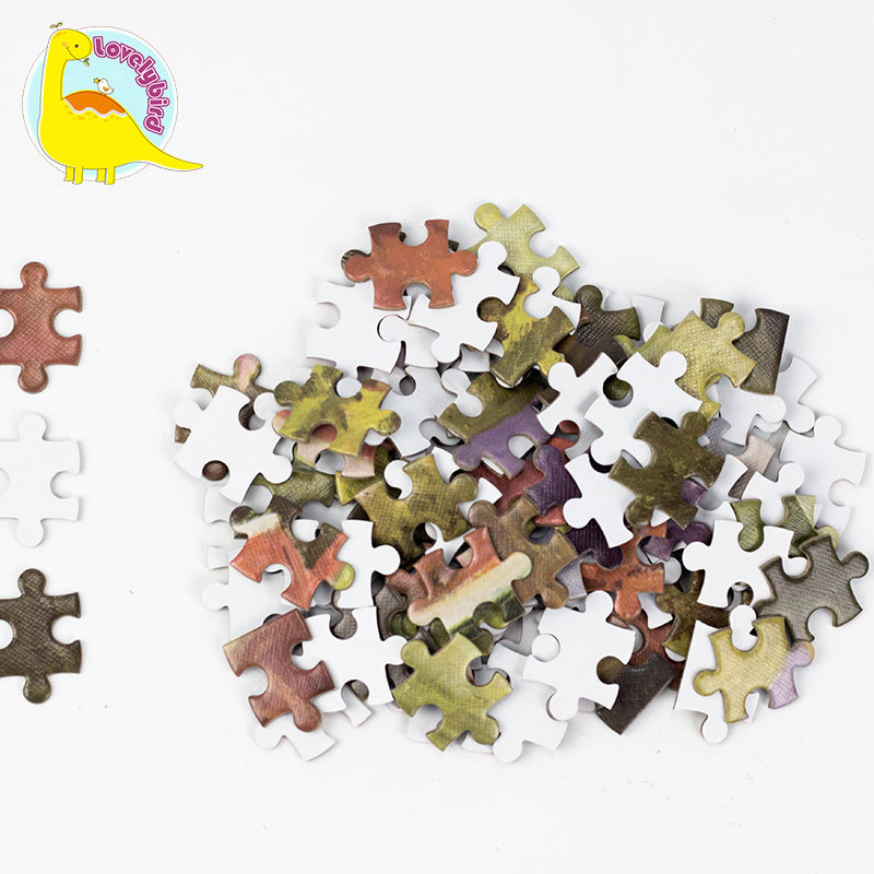 Wholesale  Toy Factory Custom 500pc Jigsaw Puzzle