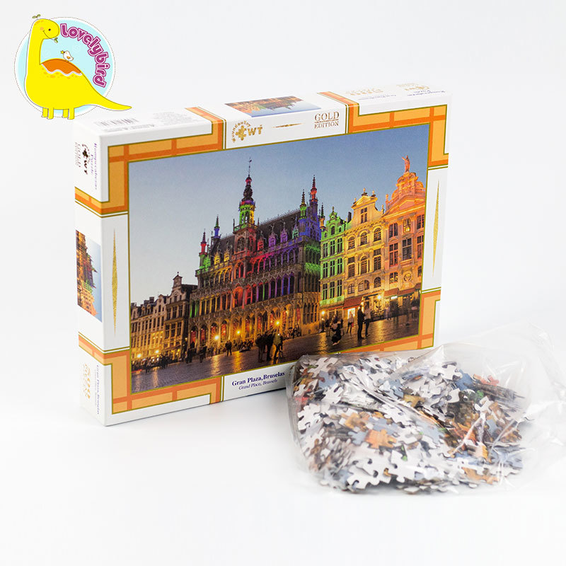 500pc Hot Stamping and Embossing  Puzzle