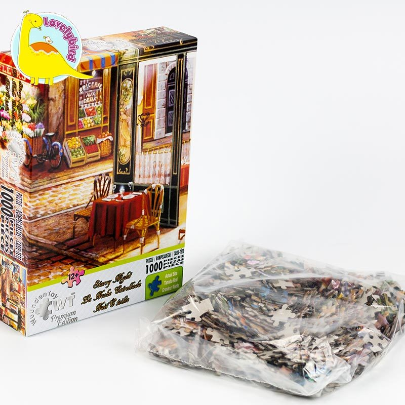 Colorful  View 1000pc Jigsaw  Puzzle