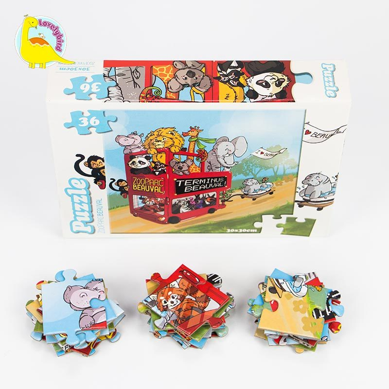 36pc Lovely Cartoon Kids' Puzzle