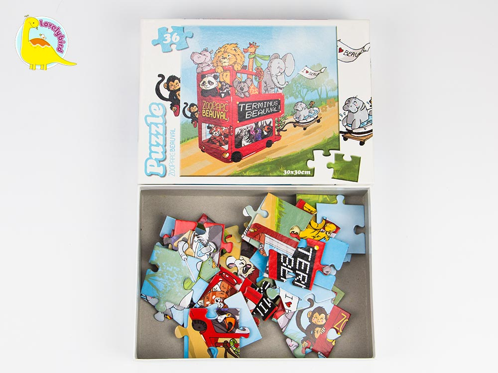 36pc Lovely Cartoon Kids' Puzzle-4
