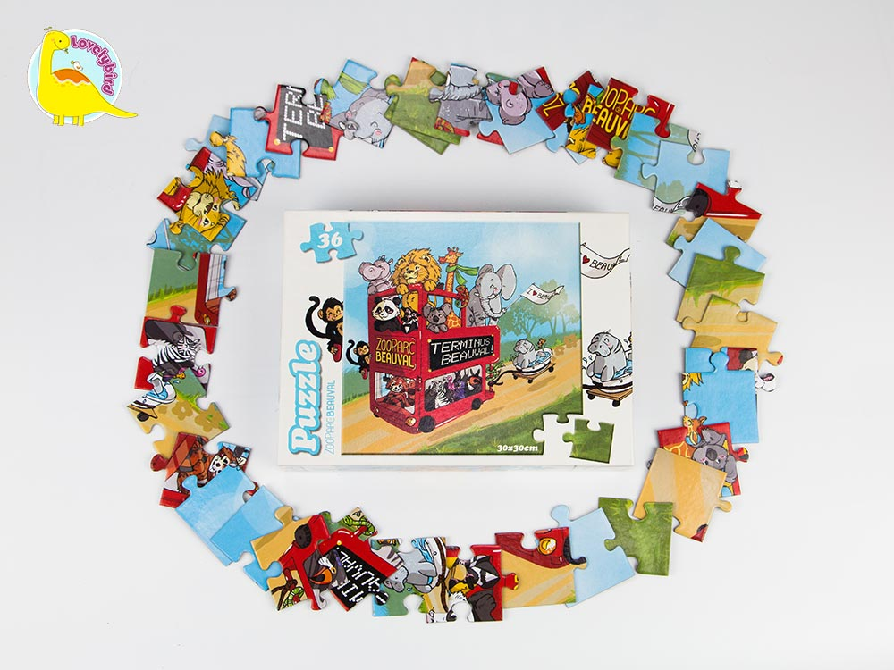 lovely 36 piece puzzle supply for present-5