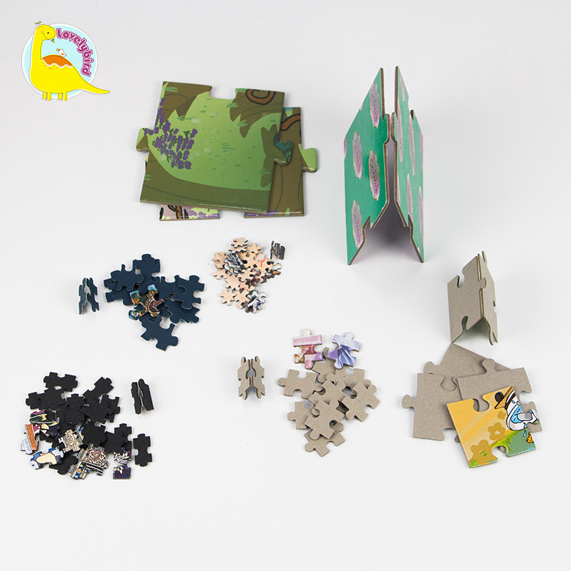All Kinds of Small Puzzle Pieces