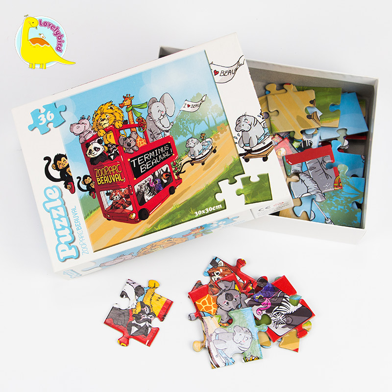 Lovelybird Toys small pieces paper puzzle customization for sale-4