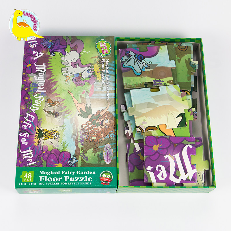 Lovelybird Toys small pieces paper puzzle customization for sale-5