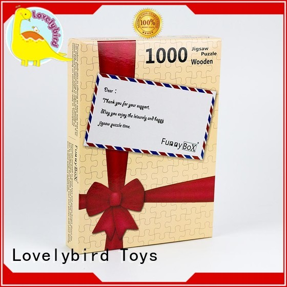 Lovelybird Toys 1000 jigsaw puzzles supplier for kids