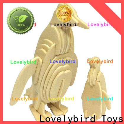 Lovelybird Toys 3d wooden puzzle animals factory for adults