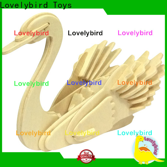 Lovelybird Toys fast delivery 3d wooden animal puzzle suppliers for entertainment