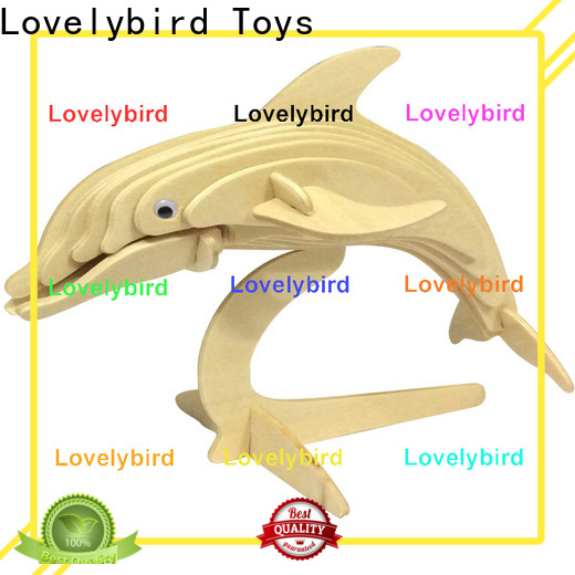 Lovelybird Toys top 3d wooden puzzle animals supply for entertainment