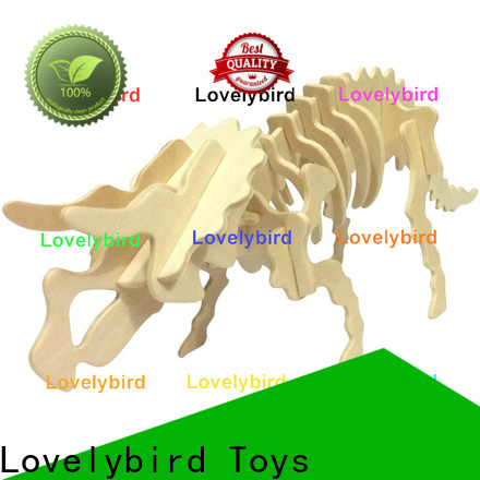Lovelybird Toys wooden 3d animal puzzles suppliers for present