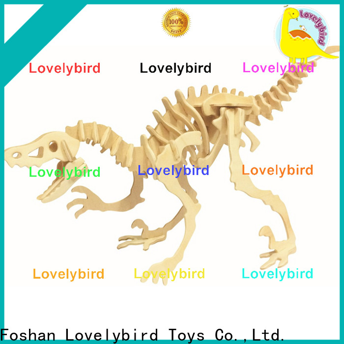 best wooden 3d animal puzzles supply for sale