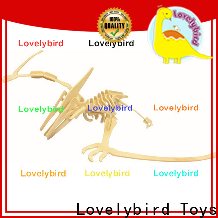 Lovelybird Toys custom 3d wooden animal puzzle suppliers for entertainment