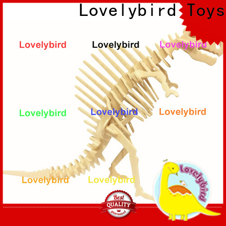 Lovelybird Toys 3d wooden animal puzzle company for business
