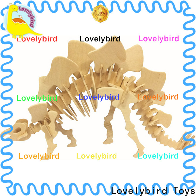 Lovelybird Toys 3d wooden animal puzzle suppliers for business