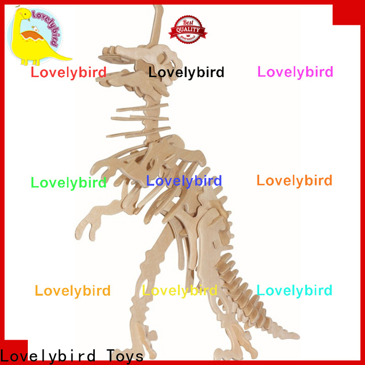 Lovelybird Toys best wooden 3d animal puzzles suppliers for sale