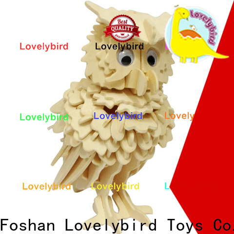 best wooden 3d animal puzzles factory for kids