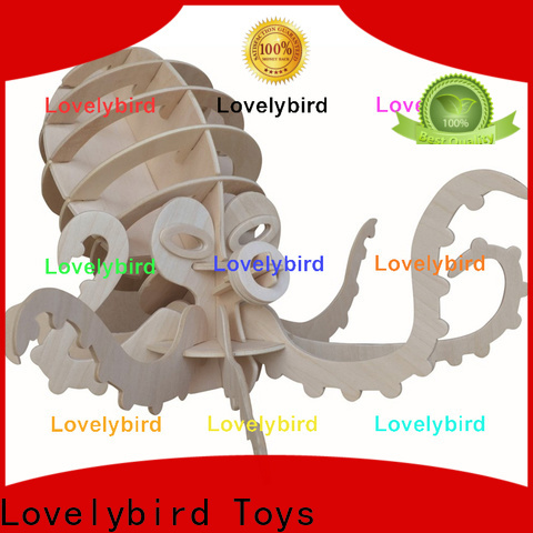 Lovelybird Toys best 3d wooden animal puzzle factory for entertainment
