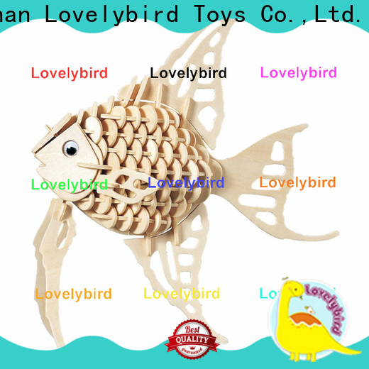 Lovelybird Toys top 3d wooden animal puzzle suppliers for present
