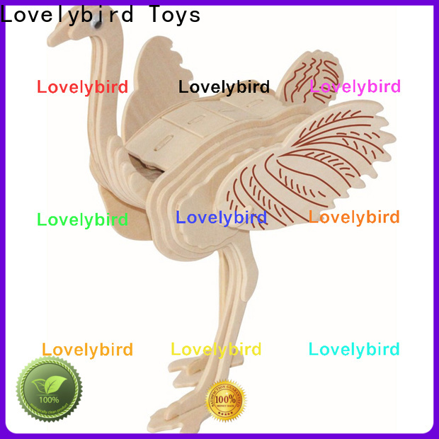 Lovelybird Toys 3d wooden puzzle animals suppliers for business