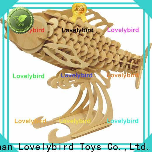 Lovelybird Toys wooden 3d animal puzzles manufacturers for sale