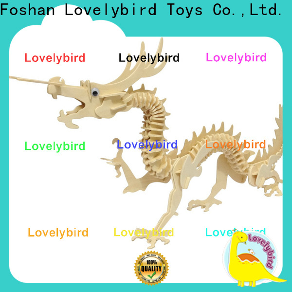 Lovelybird Toys new 3d wooden animal puzzle manufacturers for present
