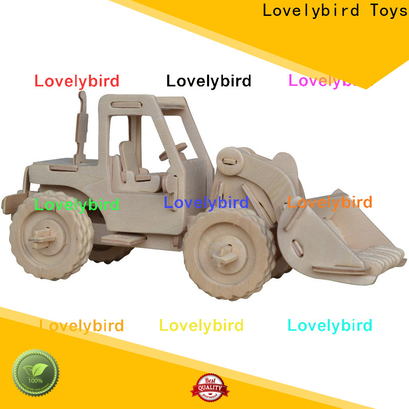 Lovelybird Toys best 3d puzzle truck supply for kids