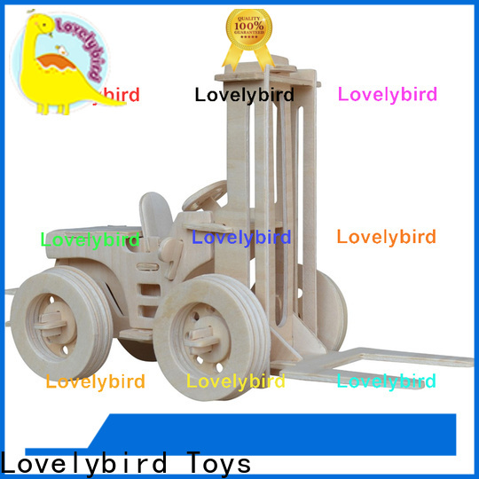 Lovelybird Toys top 3d puzzle truck suppliers for adults