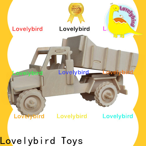 Lovelybird Toys top 3d puzzle truck suppliers for entertainment