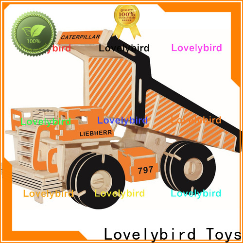 Lovelybird Toys best 3d puzzle truck company for entertainment