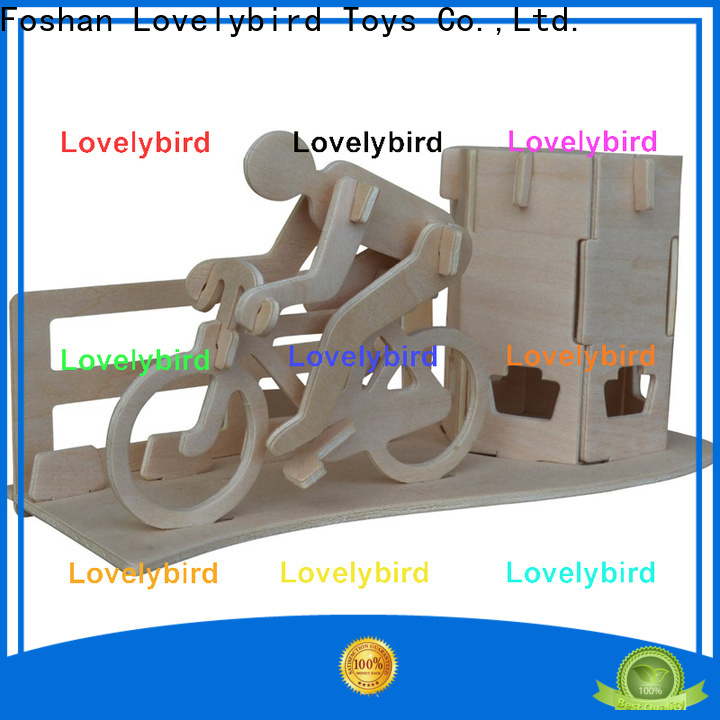Lovelybird Toys 3d wooden puzzle dollhouse furniture suppliers for entertainment