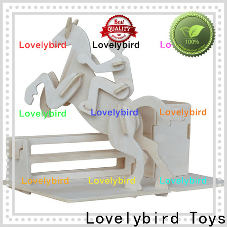 Lovelybird Toys 3d wooden puzzle dollhouse furniture manufacturers for sale