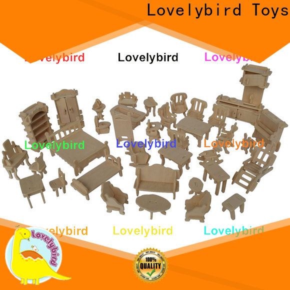Lovelybird Toys 3d puzzle furniture company for business