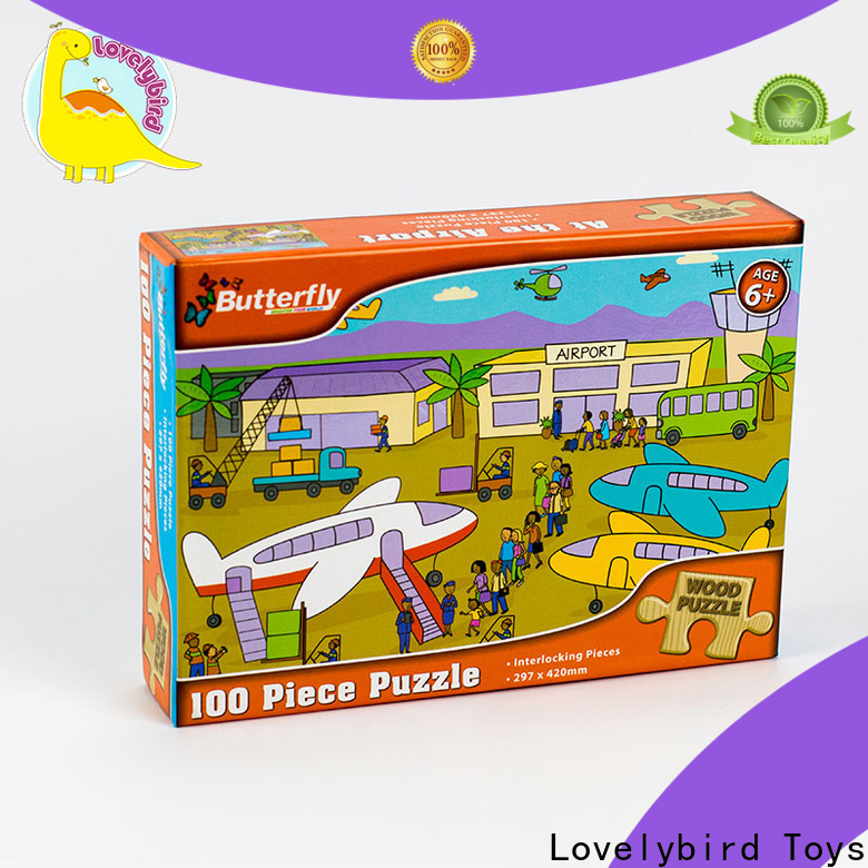 best wooden puzzles with poster for activities