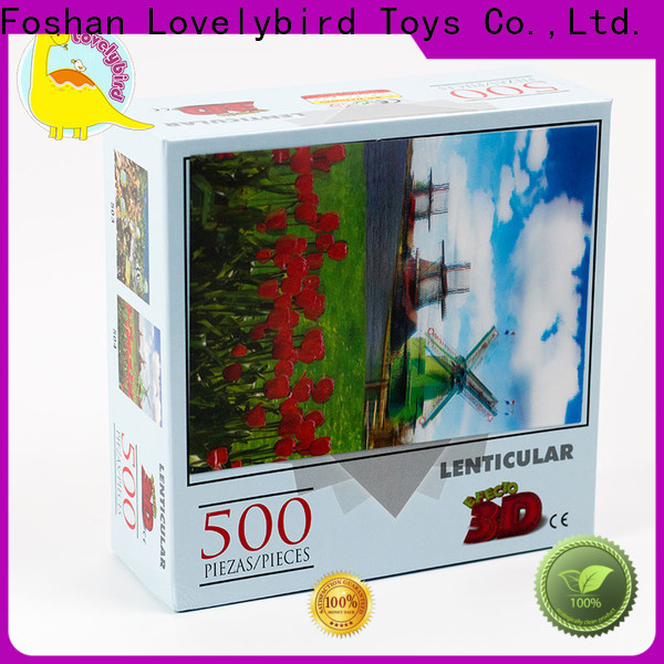 Lovelybird Toys christmas jigsaw puzzles supply for sale
