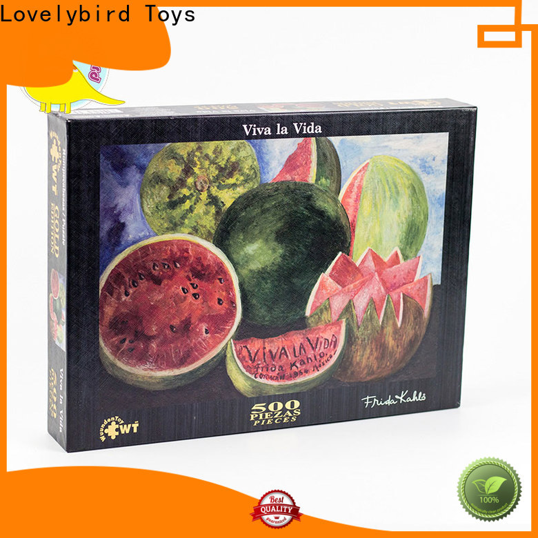 Lovelybird Toys 500 jigsaw puzzles company for sale