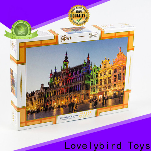 Lovelybird Toys best christmas jigsaw puzzles suppliers for adult