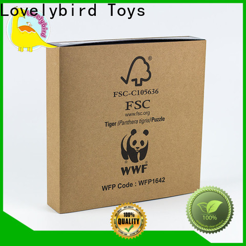 Lovelybird Toys animal jigsaw puzzles as gift for entertainment